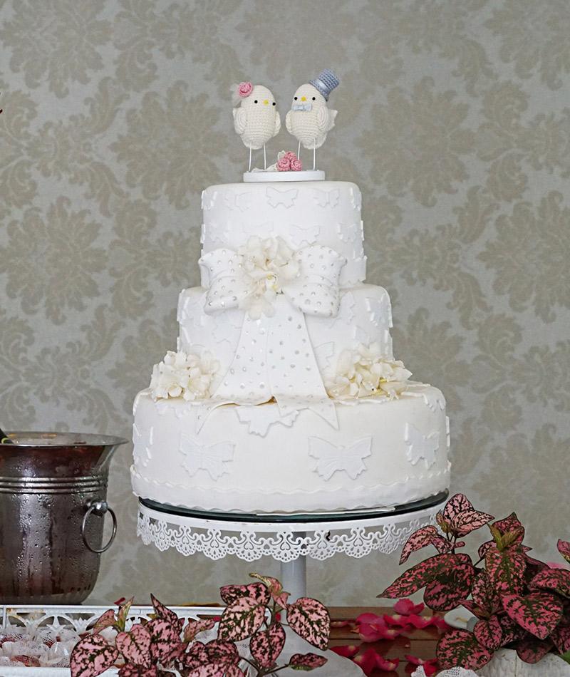 Casamento real Carmen e José bolo decoração