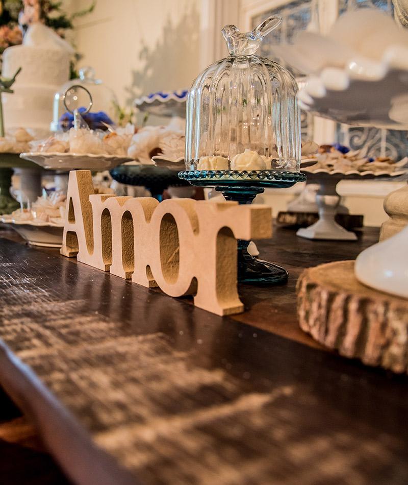 Casamento Danielle e Rodrigo decoração