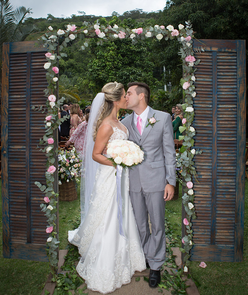Casamento Danielle e Rodrigo vestido da noiva
