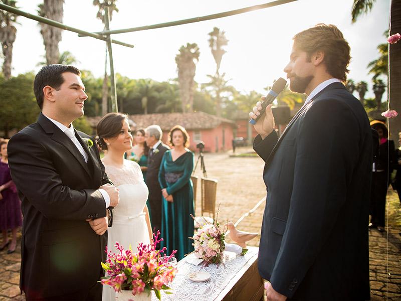 Casamento real Julia e Diego cerimônia