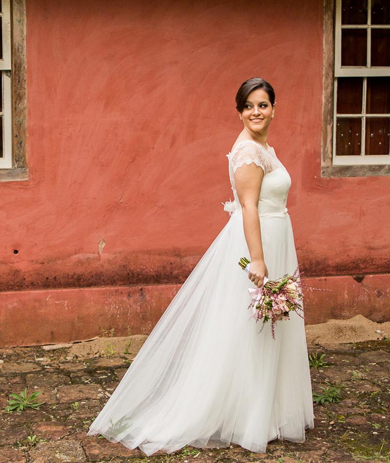 Casamento real Julia e Diego vestido de noiva