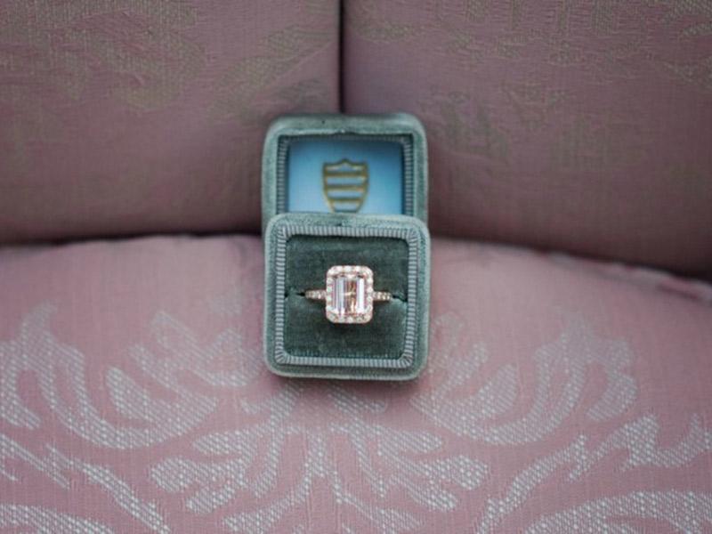 Onde comprar o anel de noivado para o pedido