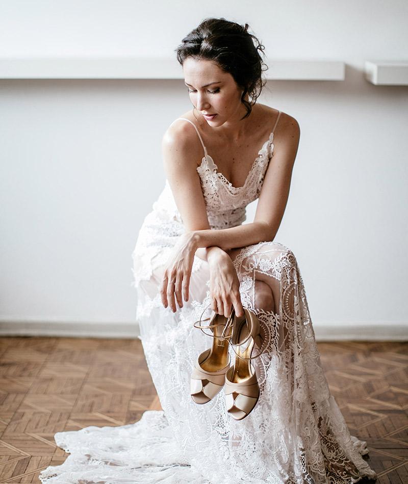 Editorial vestido de noiva Flávia Valsani