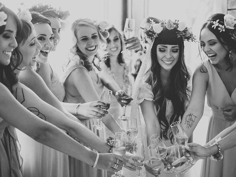 Fotos do making off da noiva ideias madrinhas