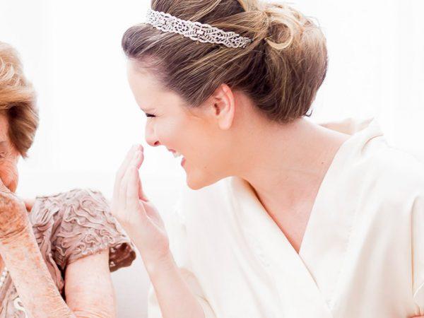 Ideias românticas para as fotos do making off da noiva