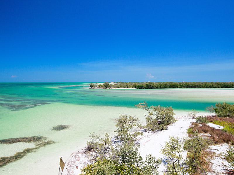 Ilhas inexploradas para lua de mel Holbox México