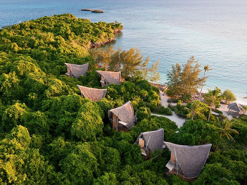 Ilhas inexploradas para lua de mel Zanzibar