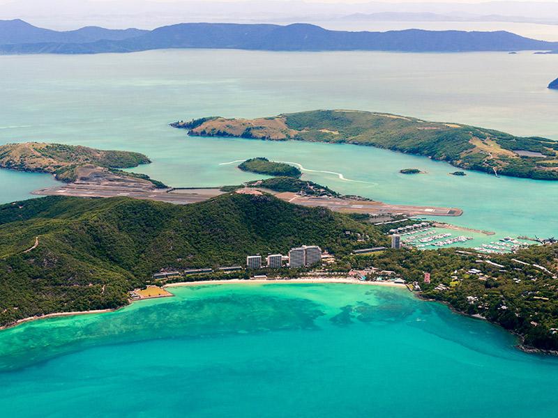 Ilhas inexploradas para lua de mel Hamilton Beach