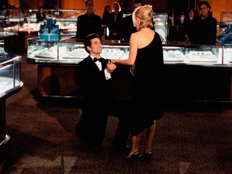 Lugares românticos para fazer o pedido de casamento filme
