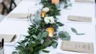 Plantas e folhagens decoração de casamento eucalipto