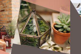 Decoração plantas e folhagens de casamento