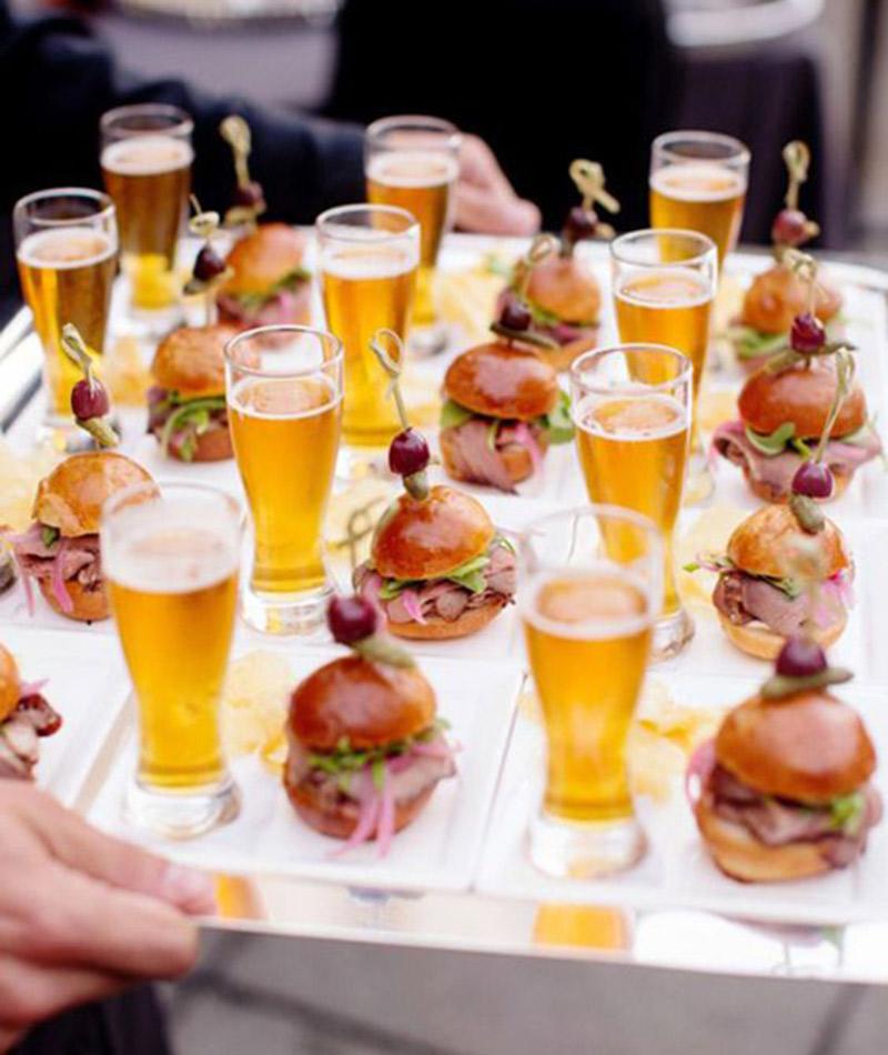 Tendências de casamento em 2017 segundo o Pinterest gastronomia