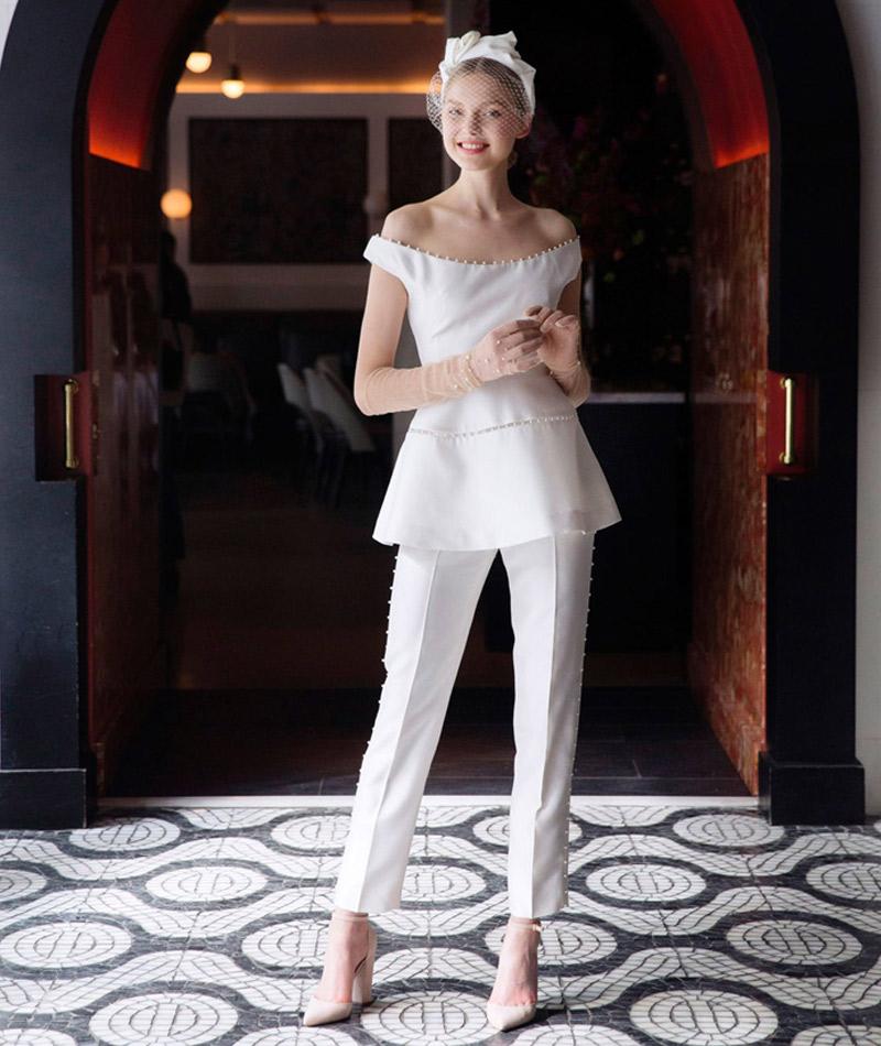 Vestido de noiva tendências do NY Brida Week Primavera 2018