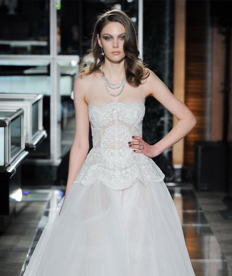 Tendências do NY Bridal Week Primavera 2018