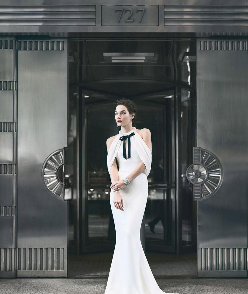 Coleção primavera Reem Acra vestidos de noiva