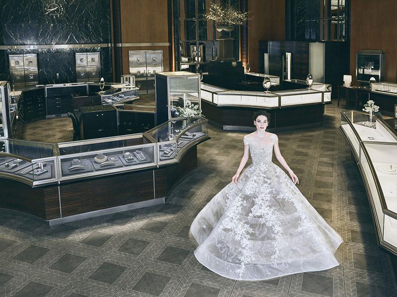 Vestidos de noiva coleção primavera Reem Acra 2018