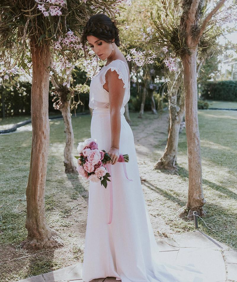 Casamento real Andrea e Alessandro vestido da noiva