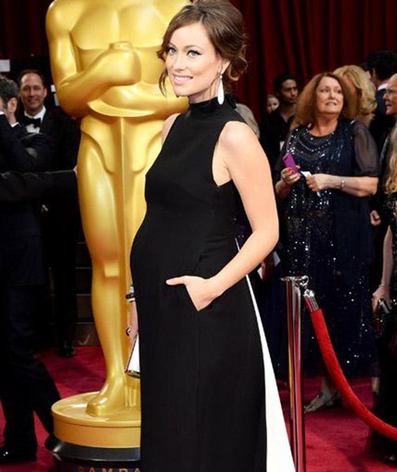 Dicas para madrinhas e convidadas grávidas Olivia Wilde