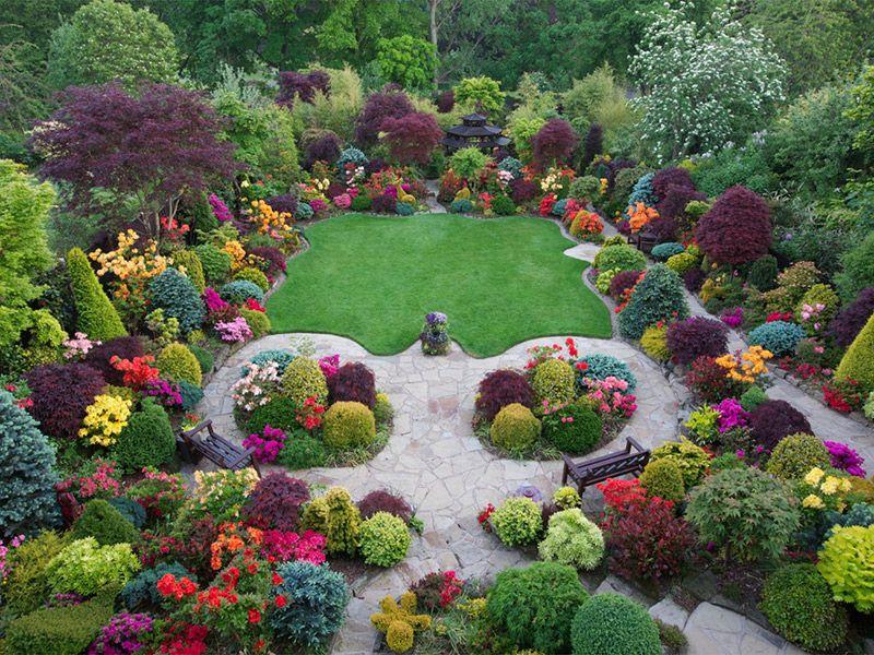 Jardins espetaculares para um casamento ao ar livre Reino Unido