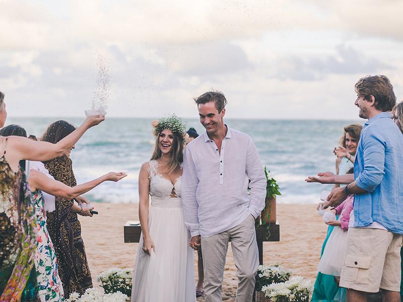 Melhores praias brasileiras para realizar a cerimônia Trancoso