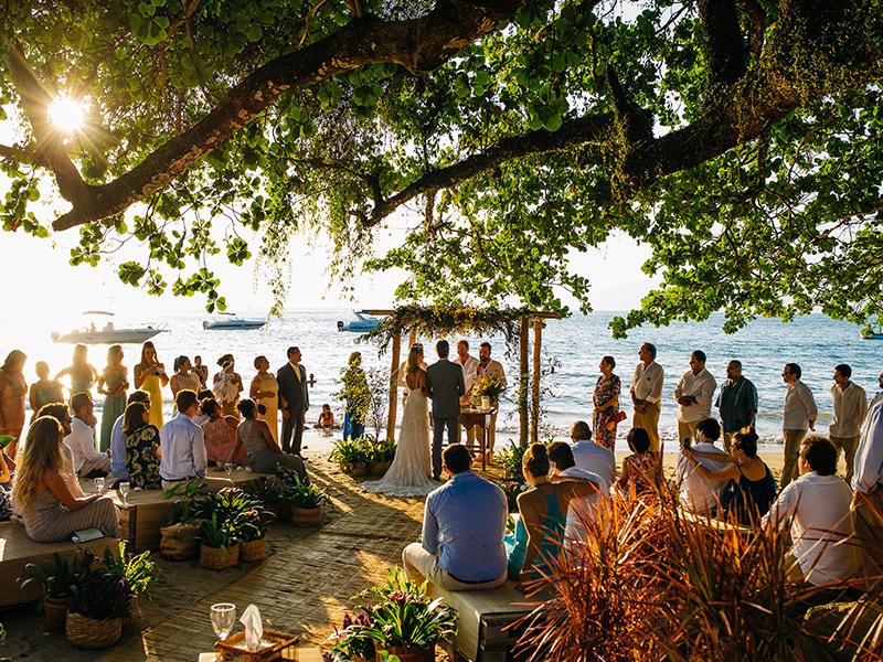 Melhores praias brasileiras para realizar a cerimônia Ilhabela