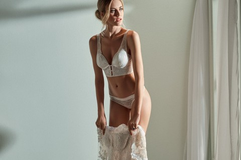 Coleção de lingerie Lethicia Bronstein para Hope