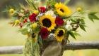 As flores para casamento de 2017 amarelo