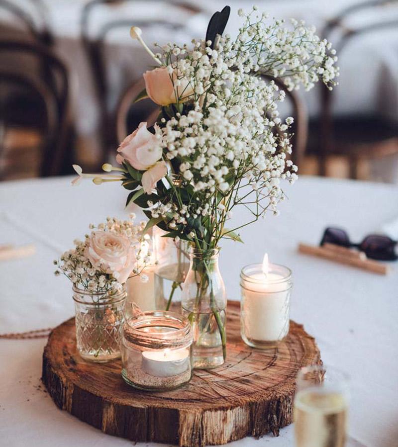 As flores para casamento de 2017 gipsófila