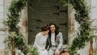 Casamento flores de 2017 greenery