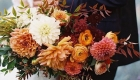 As flores para casamento de 2017 tons terrosos
