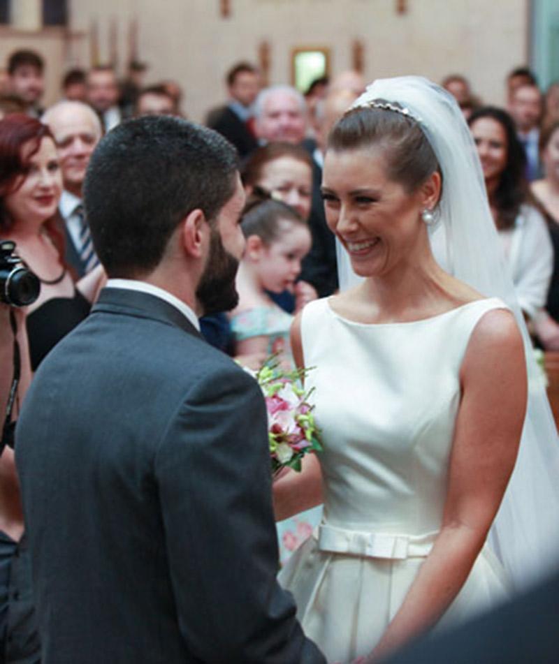 Casamento real Flávia e Philippe noivos