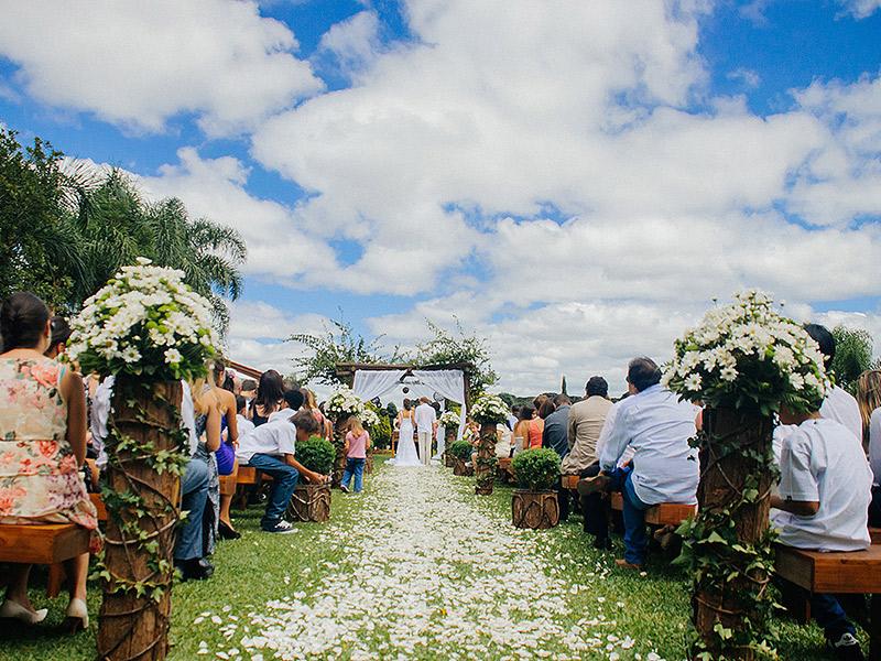 Locais para casamento ao ar livre em Curitiba Villa dei Nonni