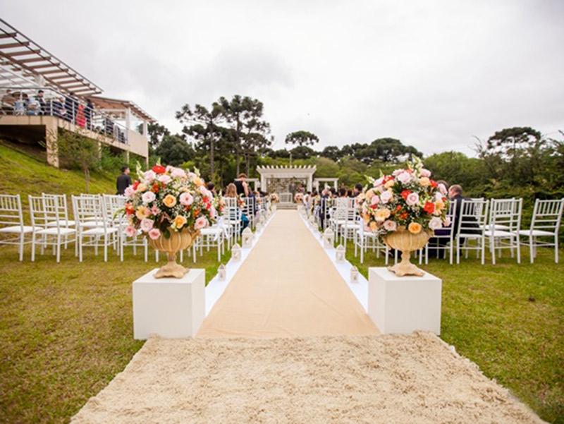 Locais para casamento ao ar livre em Curitiba Encanto Areias
