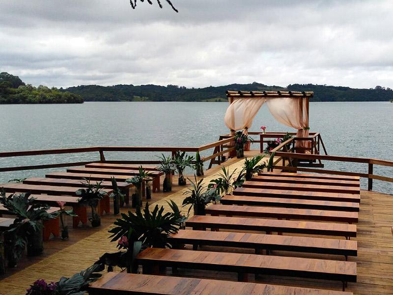Locais para casamento ao ar livre em Curitiba Espaço Belvedere
