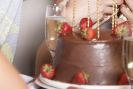 Como harmonizar bolo com espumante