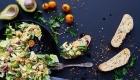 Cardápio do seu casamento comida vegetariana