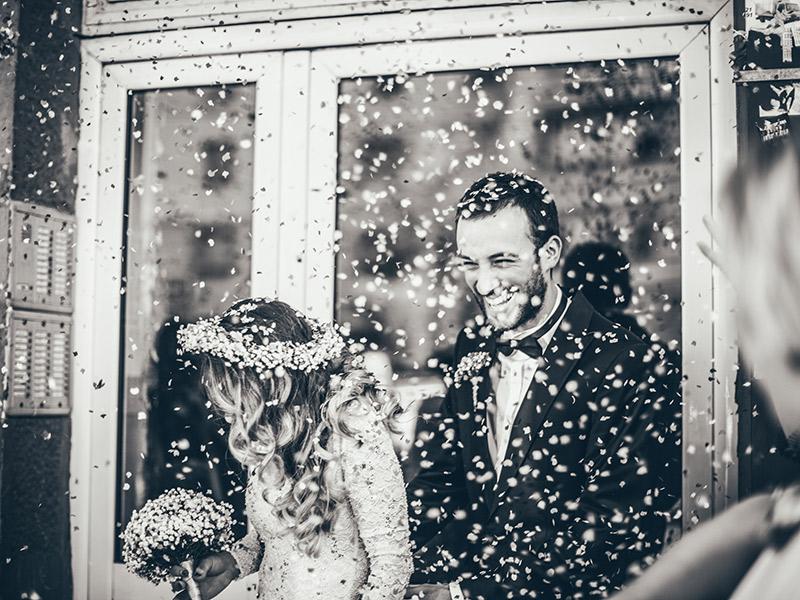 Contrato de vídeo de casamento divulgação