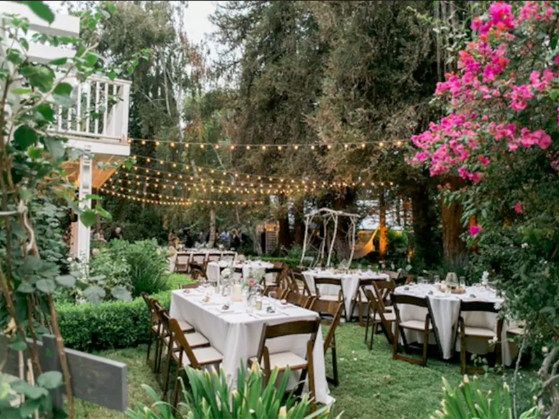 Destination wedding airbnb internacional Country Garden