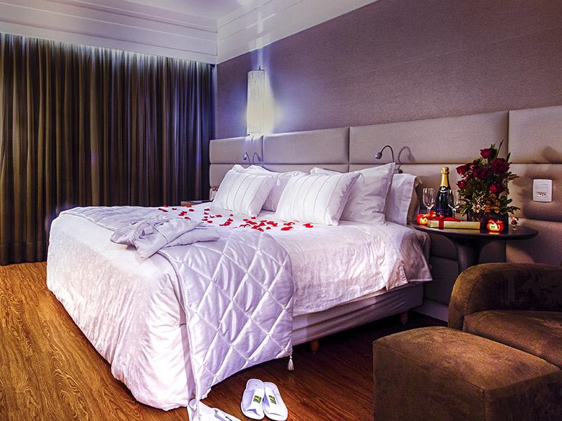 Hotéis 5 estrelas na noite de núpcias Quality Hotel