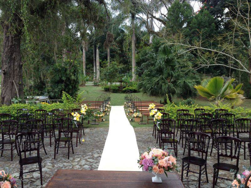 Lugares para casar no Rio de Janeiro Hotel Fazenda Florença