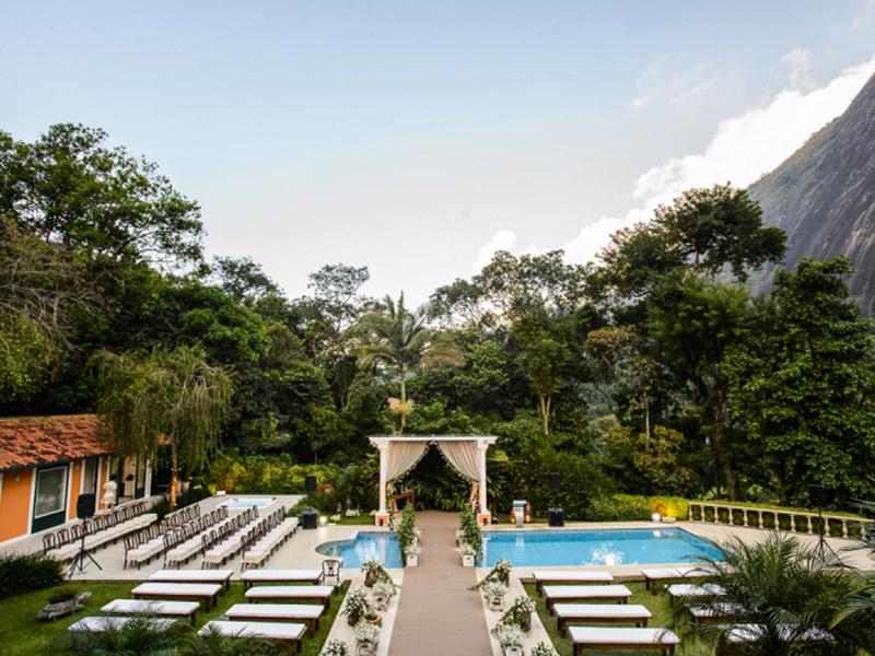 Lugares para casar no Rio de Janeiro Locanda Della Mimosa