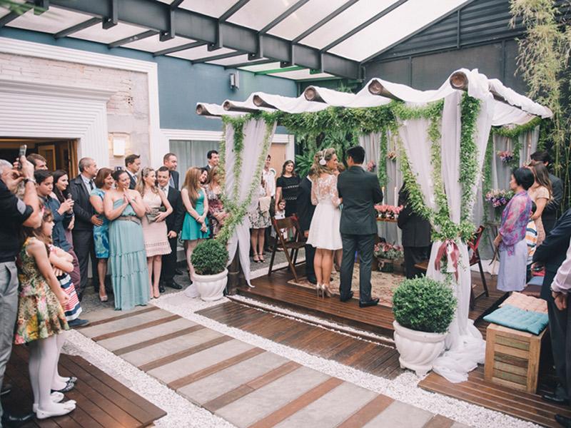 Mini wedding em Curitiba Bamboo Social Events