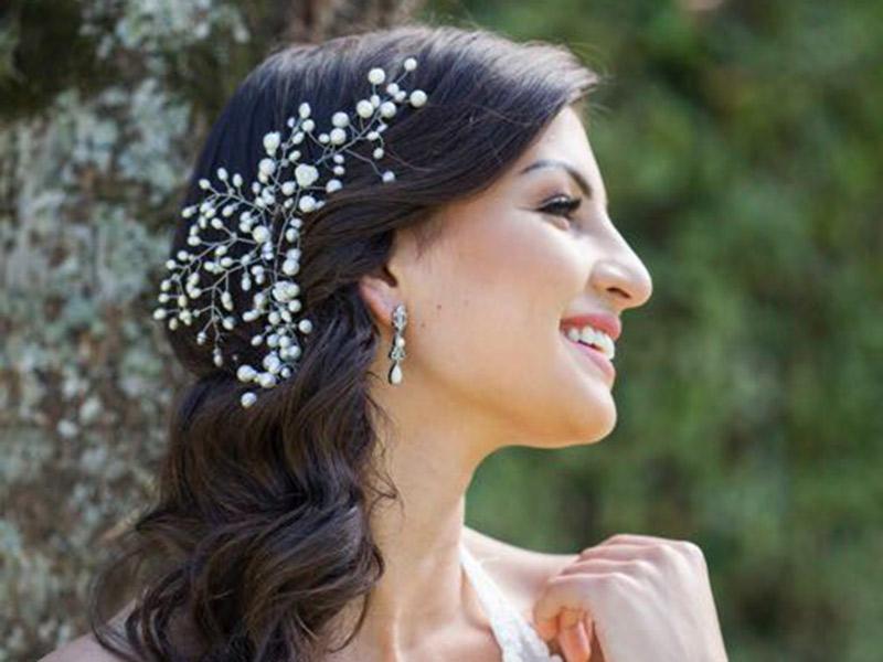 Noivas podem usar semijoias pérola