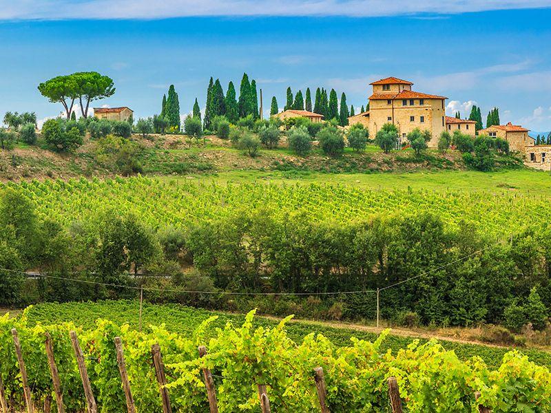 Para casar na Itália Toscana