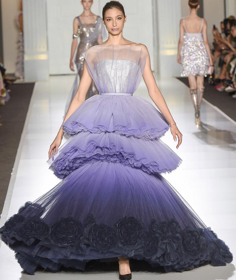 Vestidos de noiva surpreendes lilás