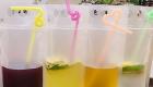Drinques do seu casamento como ousar saquinho
