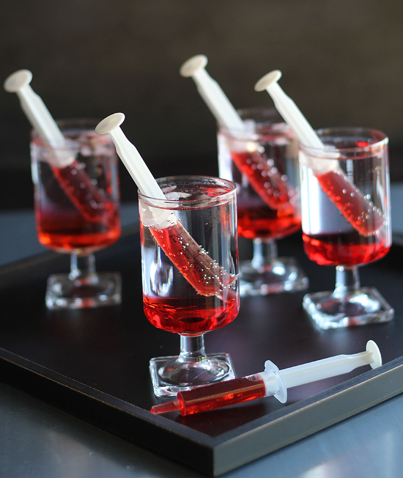 Drinques do seu casamento como ousar seringa