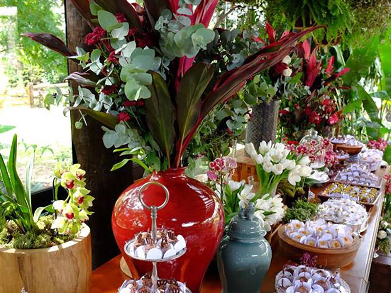 Decoração primavera/verão 2017 vasos