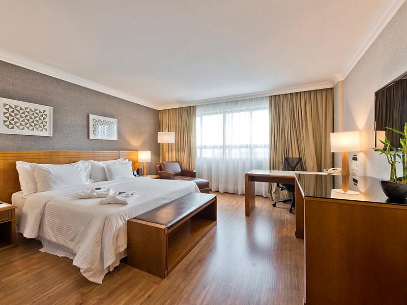 Noite de Núpcias Quarto de hotel Meliá Brasil 21 em Brasília
