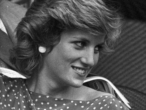 Princesa Diana em jockey club